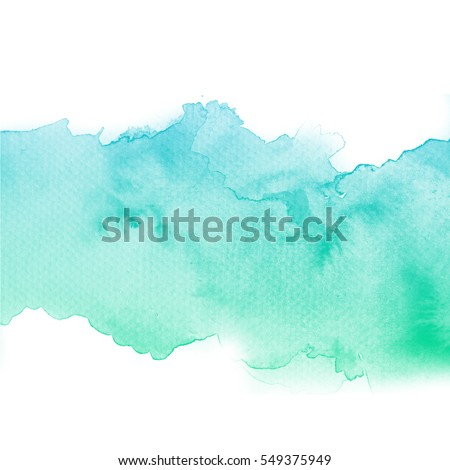 Abstract watercolor art hand paint on white background,Watercolor background.   #549375949