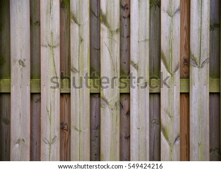 photo of Vintage wood background. Grunge wooden weathered oak or pine textured planks. #549424216