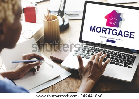 Loan Mortgage Payment Property Concept #549441868