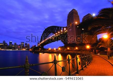 Sydney Bridge #549611065