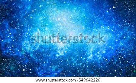 Seamless pattern of starry sky