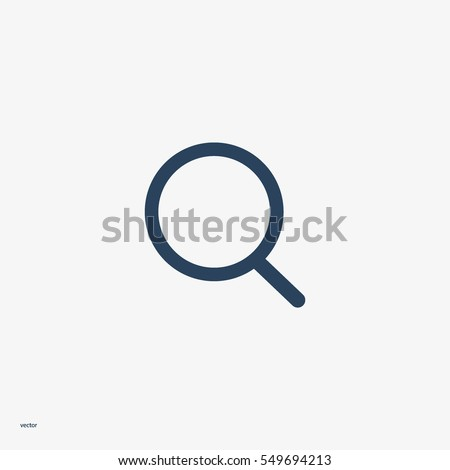 loupe, magnifying glass search icon