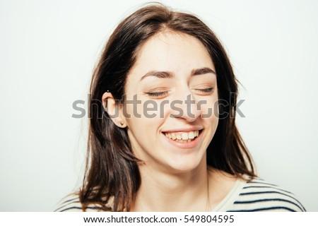 Woman laughing #549804595