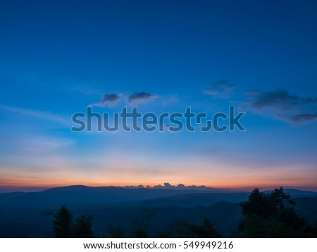 Sunset Burning Down  #549949216