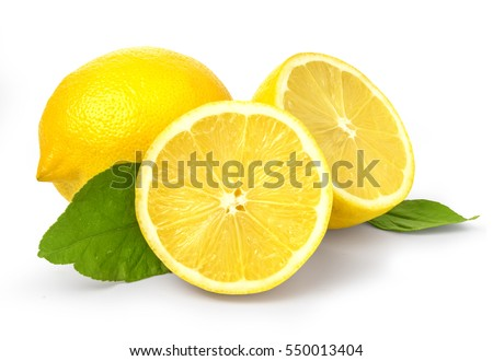 lemon isolated on white background with clipping path #550013404