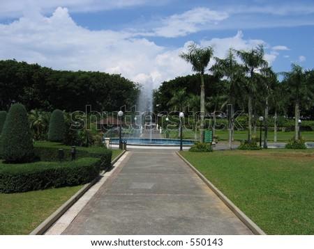 fountain at sentosa #550143
