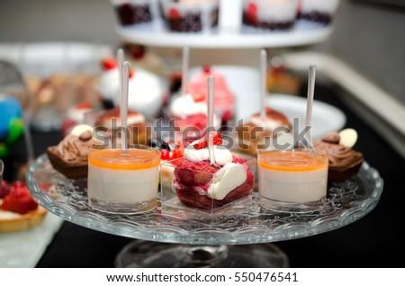 Sweet fruit dessert #550476541