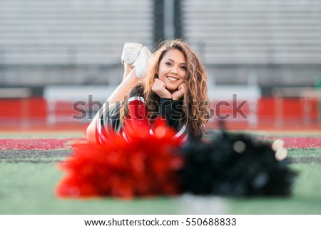One hawaiian pacific islander girl poses for high school senior portrait