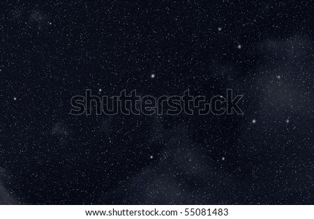 Stars in the space #55081483