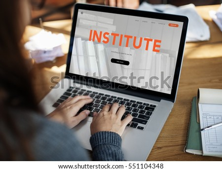 Distance learning online webpage interface #551104348
