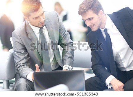 Successful business team at the workplace #551385343