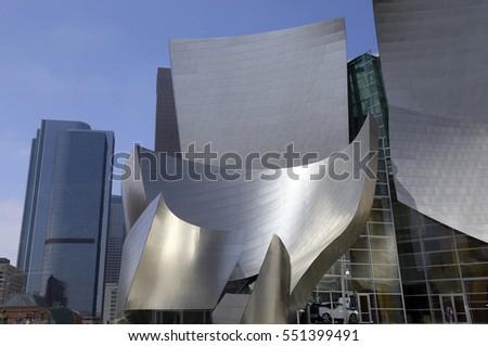 LOS ANGELES, CALIFORNIA, USA - MAY 31, 2015 - walt disney auditorium in los angeles, california #551399491