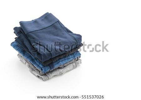 men underwear isolated on white background #551537026