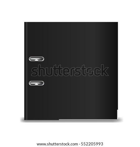 folder for papers. vector illustration #552205993
