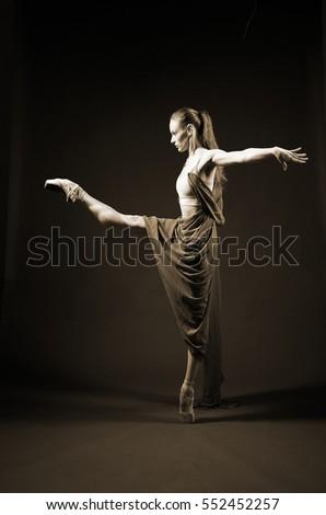 classic ballerina #552452257