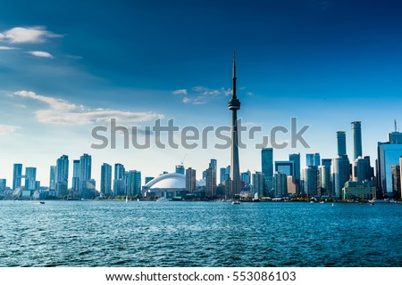 Beautiful Toronto skyline. Ontario, Canada