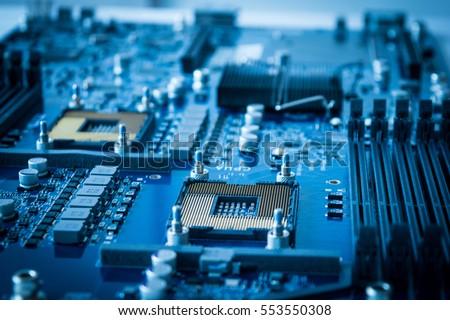 computer hardware technology microchip background #553550308