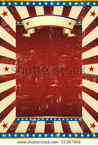 Textured american background. A grunge background with a texture for your advertising