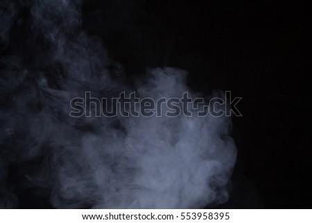 smoke on black background #553958395