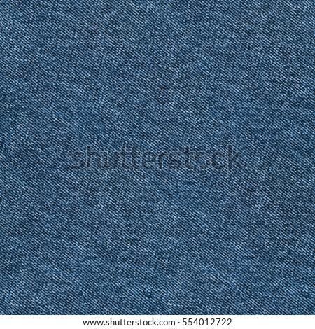 Seamless blue denim texture. Repeating pattern