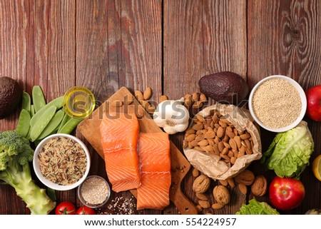 healthy food composition #554224957
