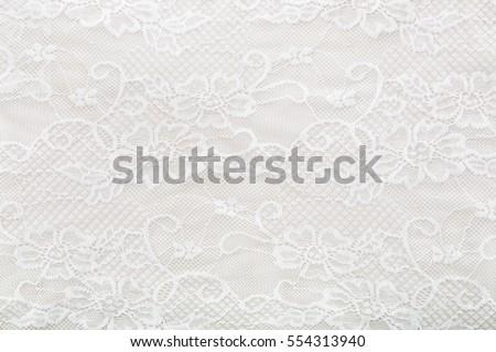 White lace background Royalty-Free Stock Photo #554313940