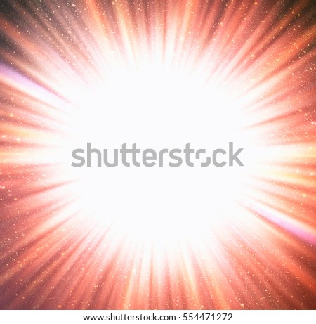 "Colorful abstract starburst. Radial background with intense glowing sparkles and stars ""The elements of this image furnished by NASA"""
