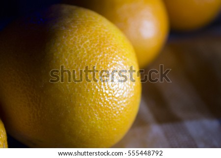 Tangerines on the table #555448792