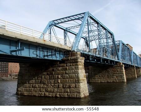 bridge over the river #55548
