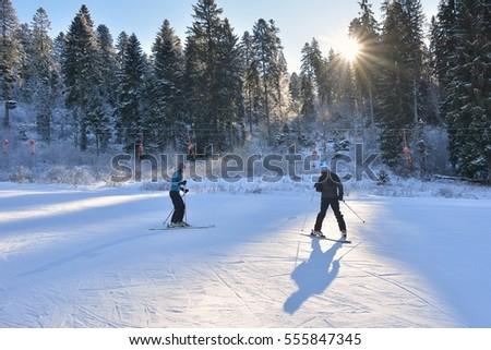 Ski Lesson #555847345