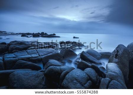 seascape, vietnam #555874288