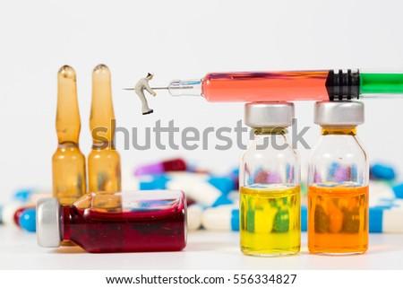 medical drug and people,miniature #556334827