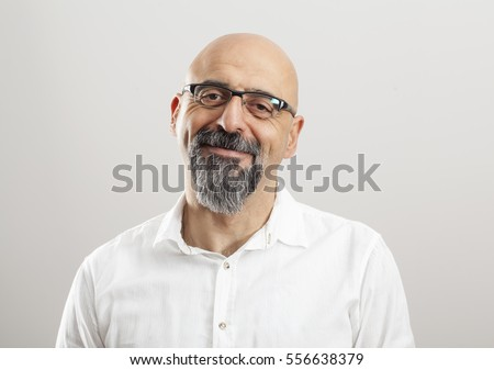 Portrait of middle aged man #556638379