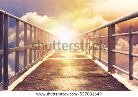 walkway to heaven  #557082649