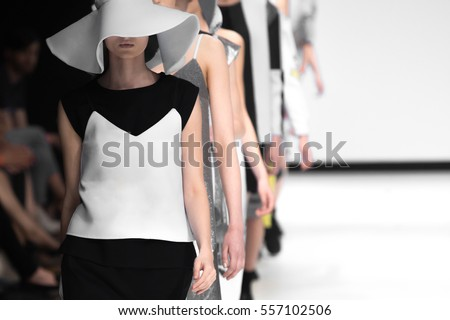 Fashion Show, Catwalk Event, Runway Show #557102506