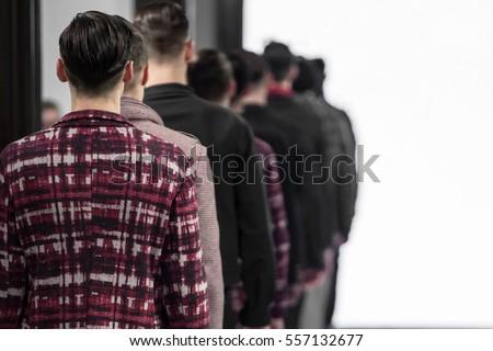 Catwalk Event, Menswear Fashion Show