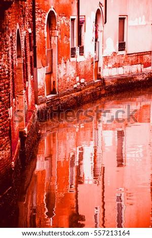 Bleeding Venice. Nightmare dream. Death in Venice. #557213164