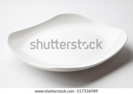white dish #557336989