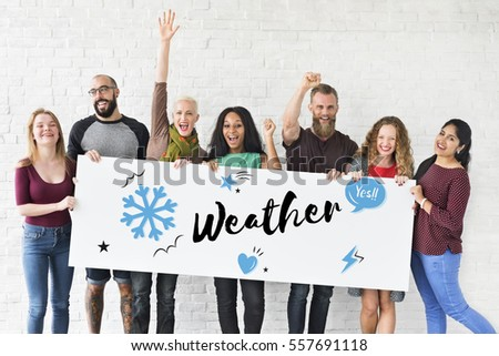 Climate Weather Winter Holiday Season #557691118