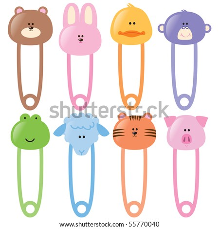 Baby Safety Pins Set 1