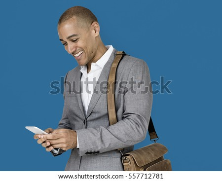 African Descent Business Man Concept #557712781