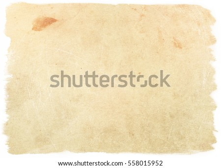 brown empty old vintage paper background. Paper texture #558015952