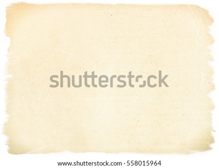brown empty old vintage paper background. Paper texture #558015964