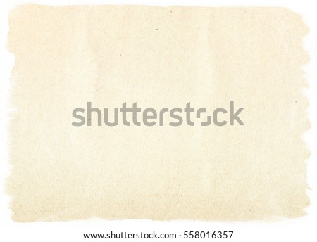 brown empty old vintage paper background. Paper texture #558016357