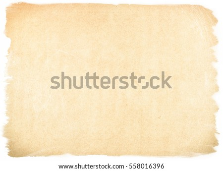 brown empty old vintage paper background. Paper texture #558016396