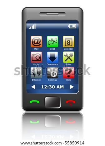 Vector smartphone #55850914