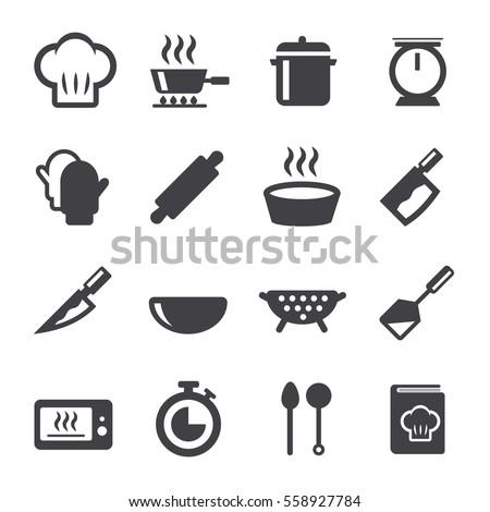 cook icon Royalty-Free Stock Photo #558927784