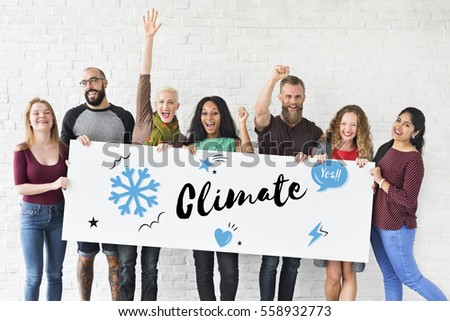 Climate Weather Winter Holiday Season #558932773