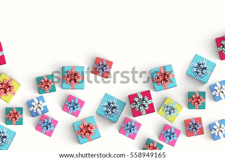 gift box on color background #558949165