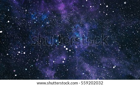 High definition star field background . Starry outer space background texture . Colorful Starry Night Sky Outer Space background . #559202032